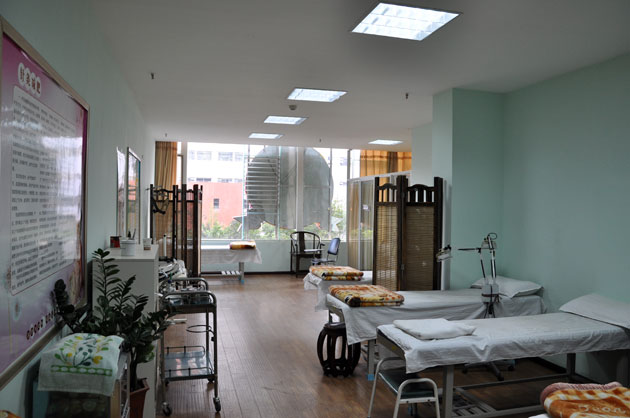 外療服務,并在此基礎上不斷創新,以皮膚理療,中西醫結合風濕病中心為