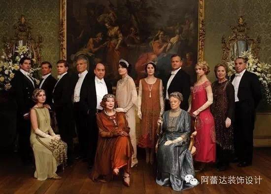 从《唐顿庄园》看英式贵族生活图片