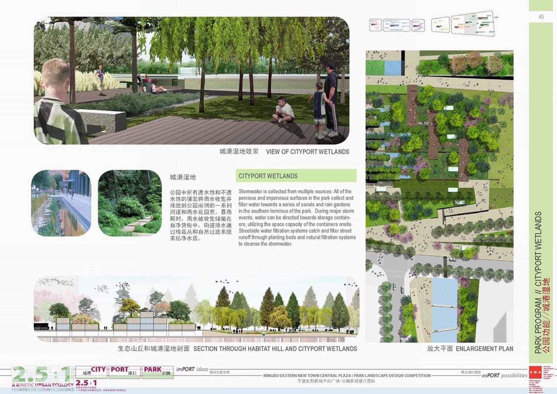 swa宁波新城中央广场景观设计方案文本-线计网